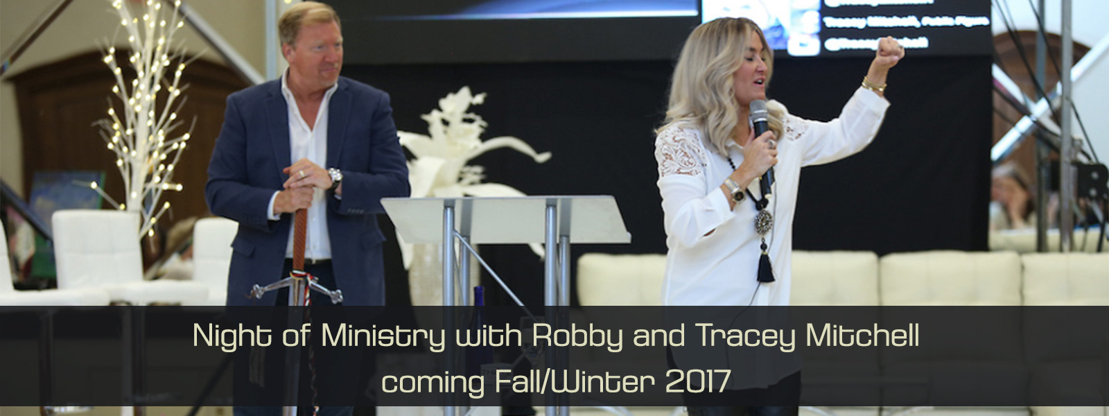 Night of Ministry with Robby and Tracey Mitchell